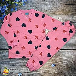 Байкова піжаму для дівчинки Розміри: 1,2,3,4 року (21085-4)