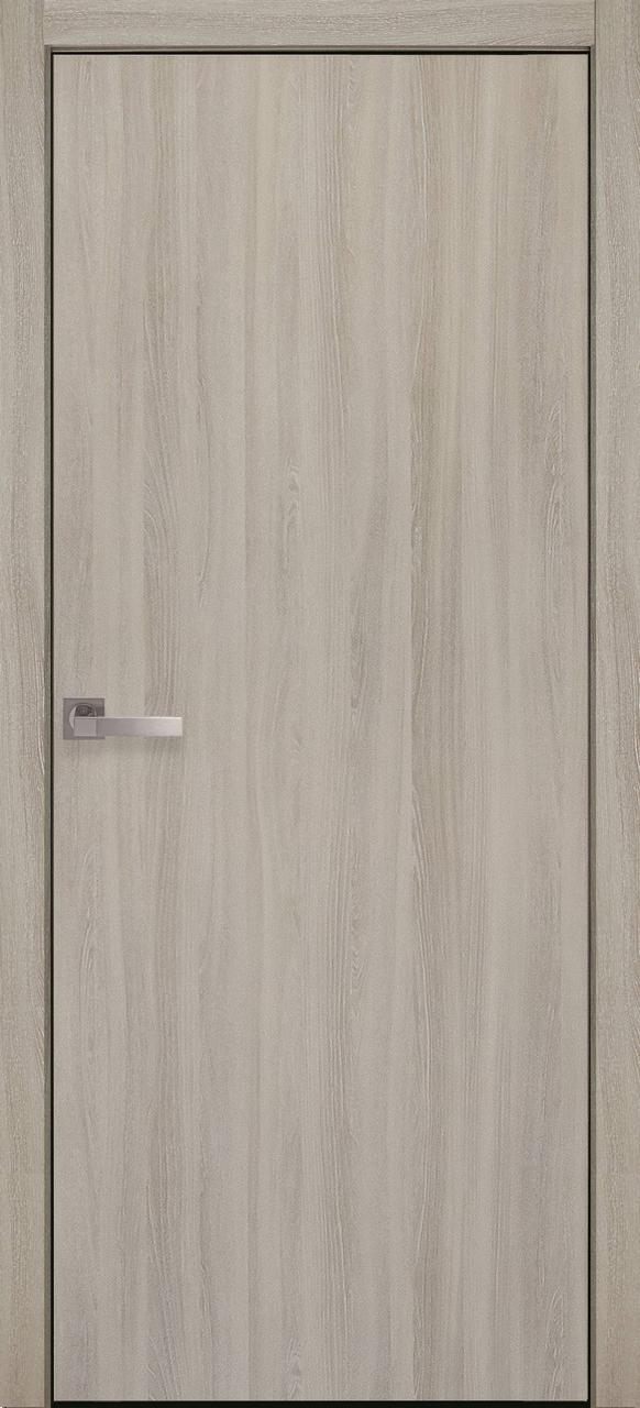 """Дверь межкомнатная """"Новый Стиль"""" модель Экошпон Стандарт, ясень патина (глухое)"""