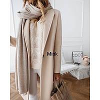 Модное Кашемировое пальто женское 90424