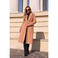 Пальто женское кашемировое утепленное 35431
