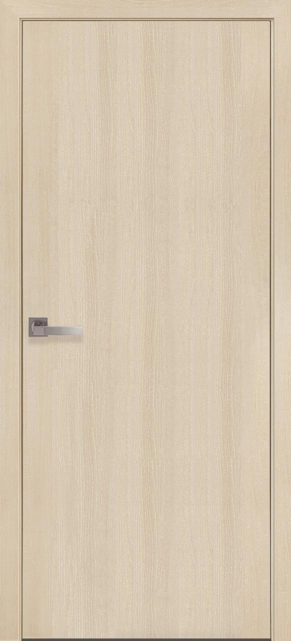 """Дверь межкомнатная """"Новый Стиль"""" модель Экошпон Стандарт, дуб жемчужный (глухое)"""