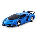 Машинка Трансформер Lamborghini Robot Car Size 18 - Синяя, фото 3