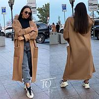 Кофта-пальто женское 9633 р 42-52