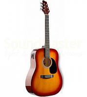 Акустическая гитара Stagg SW201-VT CS