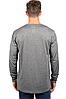 Спортивная кофта Ultra Game NBA Men's Active Long Sleeve Tee Shirt - Heather Charcoal  (XX-Large), фото 2