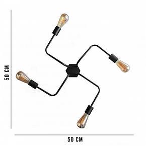Люстра паук NL 5050/4 MSK Electric, фото 2