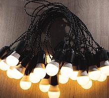 Уличная гирлянда Retro Light 5 м на 11 лампочек LED с влагозащитой IP22 111929498, КОД: 1754858