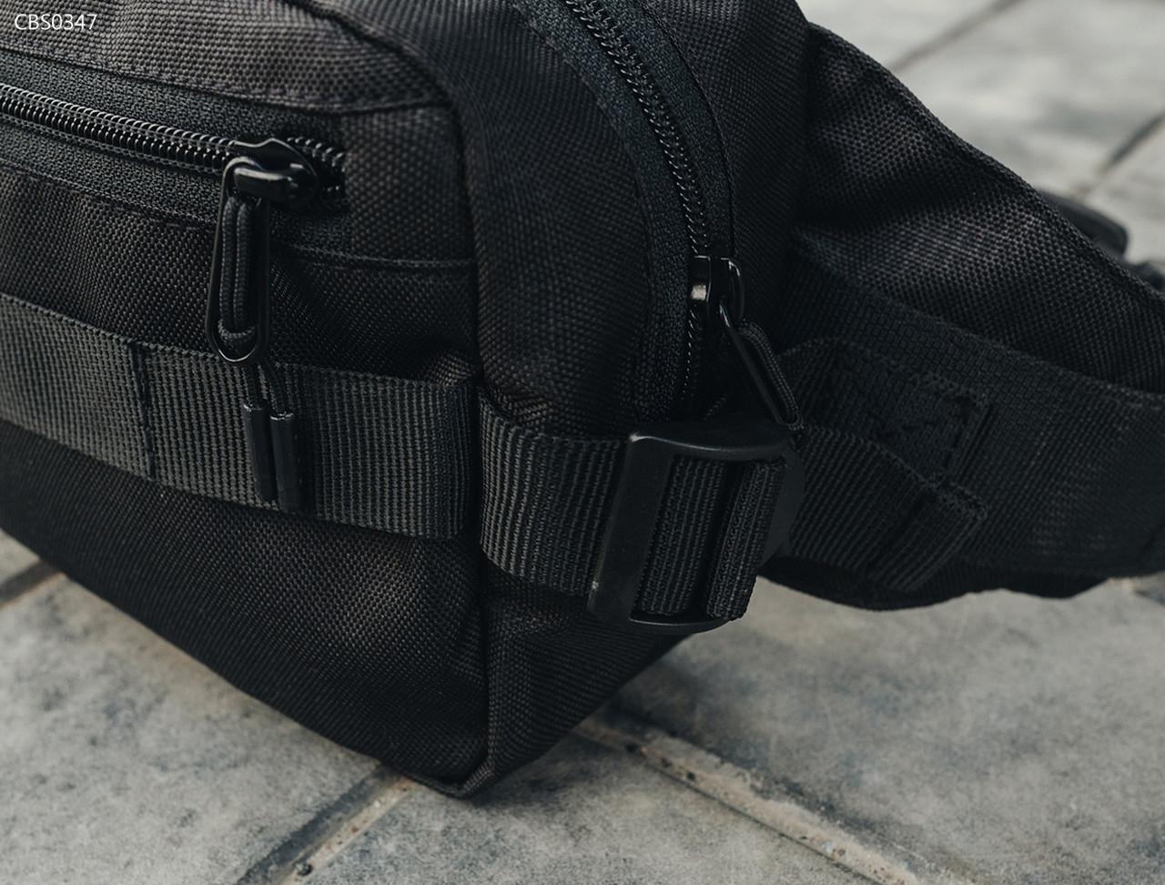 Поясная сумка Staff square black