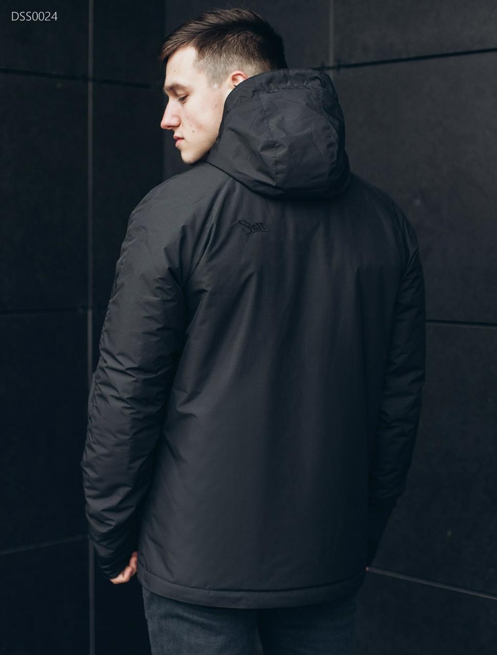 Куртка Staff black asymmetry