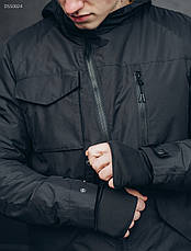 Куртка Staff black asymmetry, фото 3