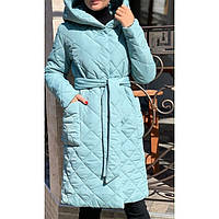 Пальто куртка женская стеганая 3452 р 42-52