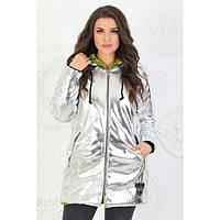 Зимняя куртка женская на меху 1550 батал
