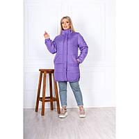 Женская зимняя куртка больших размером 74003 бат