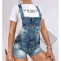Комбинезон женский джинсовый 6613