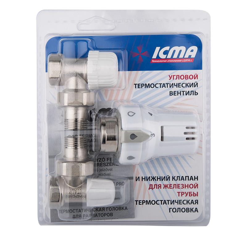 "Термокомплект Icma 1/2"" прямой №KTE985+775+815"