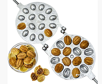 Форма для выпечки орешков  на 16 орехов. Орешница