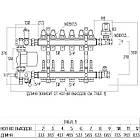 """Коллекторная группа Icma 1"""" 12 выходов, с расходомером №A3K013, фото 2"""