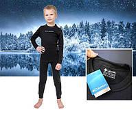 Детское термобелье Columbia, термо коламбия, комплект, черное, штаны и кофта