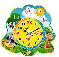 """Годинник настінний """"Крихітка єнот"""""""
