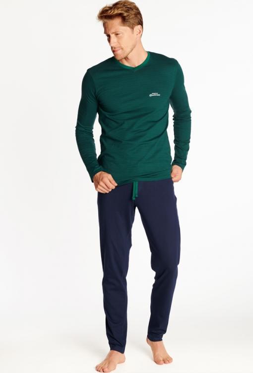 Хлопковая мужская пижама в подарочной упаковке!  Henderson 38367