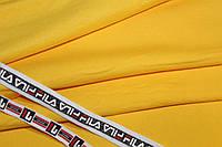 Желтый яркий. Трехнитка на флисе .1,85 м. ширина.