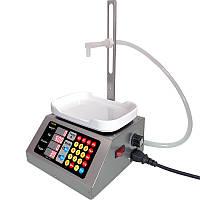 Розливочна машина з ваговим сенсором