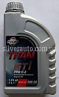 Моторное масло FUCHS TITAN GT 1 PRO C-2 5w-30 1л.