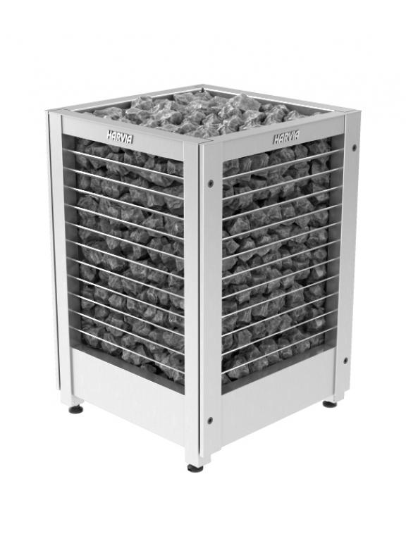 Напольная электрическая каменка Harvia Modulo MD160G 15.8 кВт вес камней 160 кг парная 15-25 м.куб