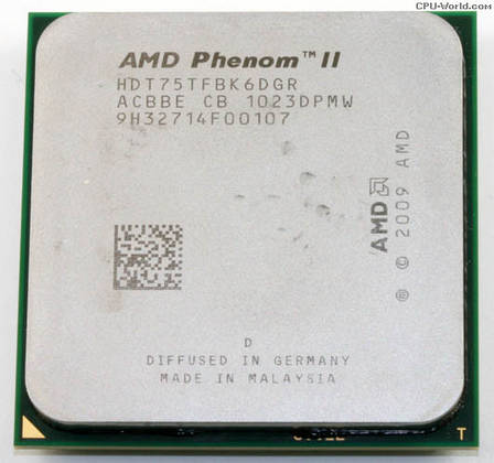 Процессор AMD Phenom II X6 (six core) 1075T 3.0-3.5GHz 125W, + термопаста GD900, фото 2