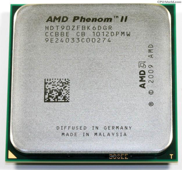 AMD Phenom II X6 1090T Black Edition (six core) 3.2-3.6GHz 125W, + термопаста GD900