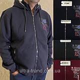 Мужские турецкие тёплые спортивные кофты на флисе, фото 7
