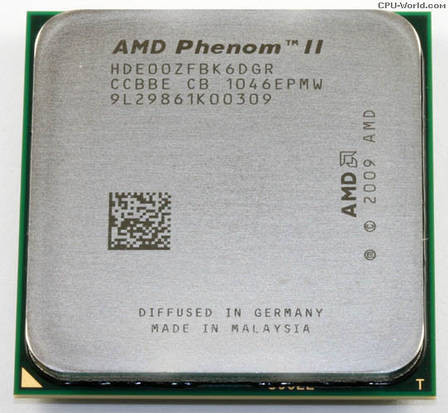 AMD Phenom II X6 1100T Black Edition (six core) 3.3-3.7GHz 125W, + термопаста GD900, фото 2