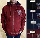 Мужские турецкие тёплые спортивные кофты на флисе, фото 6