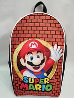 Городской рюкзак Super Mario Супер Марио для школьника подростка молодежный, фото 1