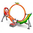 Хот Вилс Безумный форсаж и 5 машин/Hot Wheels Power Shift Raceway Track & 5-Race Vehicles Set FCF18, фото 2