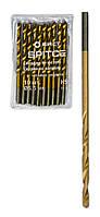 Сверло по металлу HSS, с титановым покрытием, 3мм, 10шт Spitce 20-220 | Свердло по металу НSS, з титановим