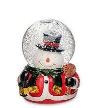 """Снежный шар с подсветкой """"Снеговик"""" музыкальный"""