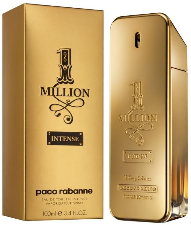 Оригинал мужская туалетная вода Paco Rabanne 1 Million Intense
