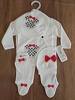 Нарядный комплект для новорожденного ребенка, фото 1