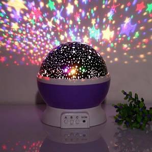 Нічник куля проектор зоряне небо Star Master Dream