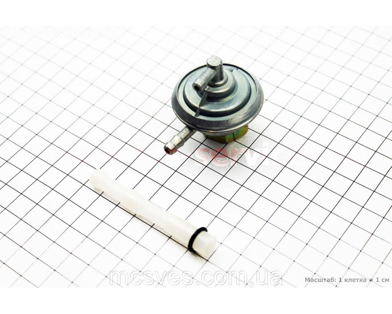 (GX-Viper) Вакуумный насос под бак, гайка большая GY6/DIO 1 / 2