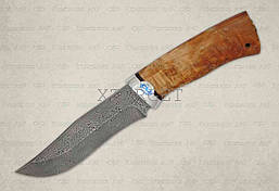 Нож АиР Клычок-3 рукоять карельская береза, сталь ZD-0803