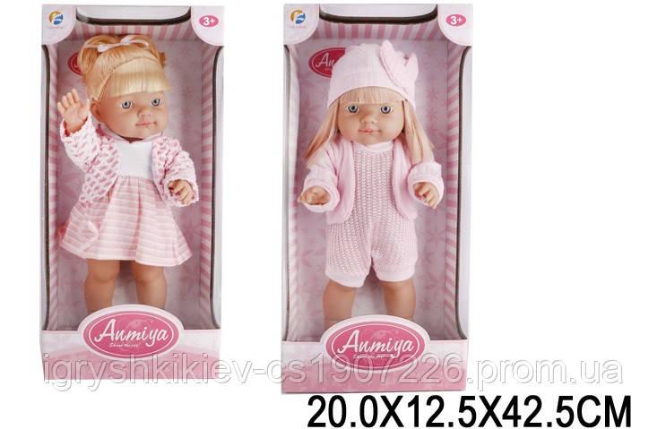 Лялька 2 види, в кор.20*12,5*42,5 см /18-2/