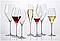 Набор бокалов для шампанского Rona Swan 320 мл 6 шт золото, фото 7