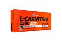 Л-карнитин - Olimp L-Carnitine 1500 Extreme Mega Caps 120 caps