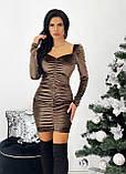 Сукня жіноча вечірня оксамитове, фото 4