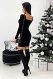 Сукня жіноча вечірня оксамитове, фото 6