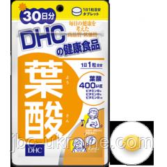 DHC Фолиевая кислота 30 таблеток на (30 дней)