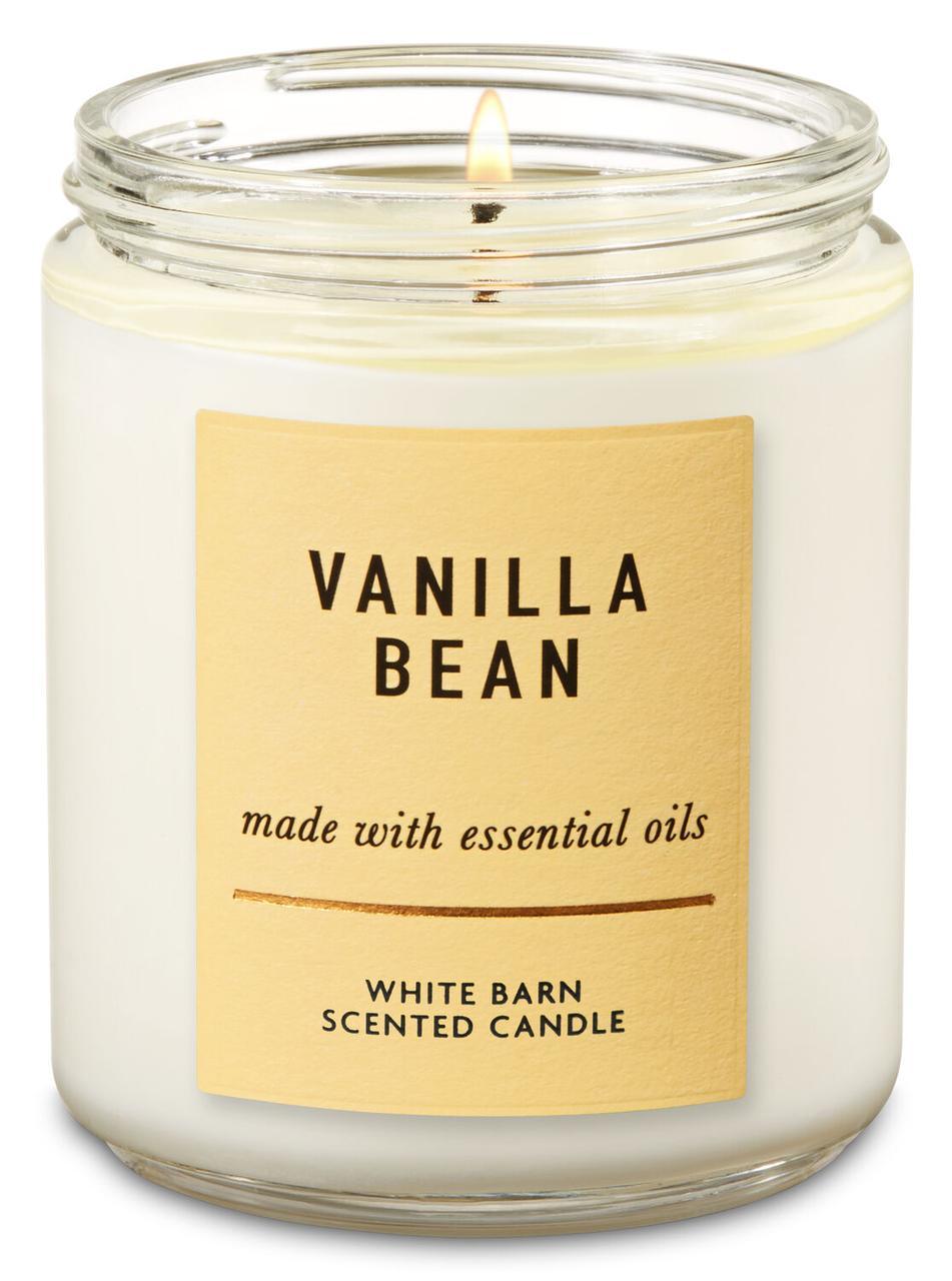 Свеча ароматизированная Bath and Body Works Vanilla Bean Scented Candle 198 г