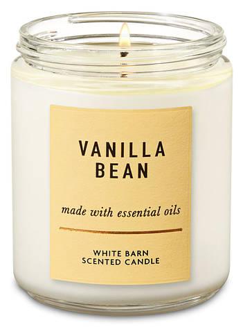 Свеча ароматизированная Bath and Body Works Vanilla Bean Scented Candle 198 г, фото 2